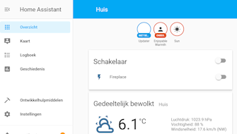 Usa Home Assistant per controllare i radiatori e i camini di Enjoyable Warmth